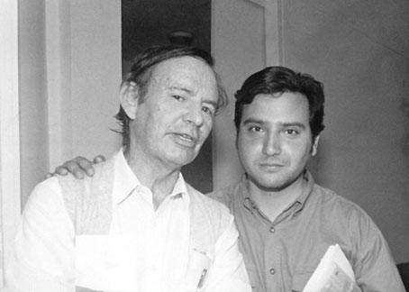 Jorge Teillier y Leo Lobos
