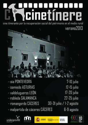 cartel CINETINERE A3 GENERAL