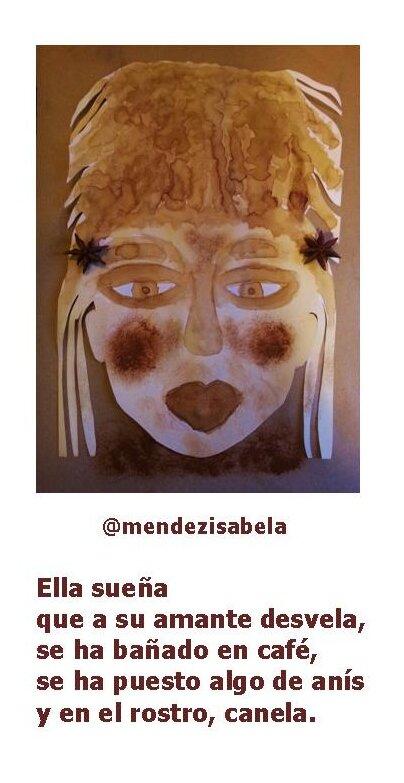 máscara café